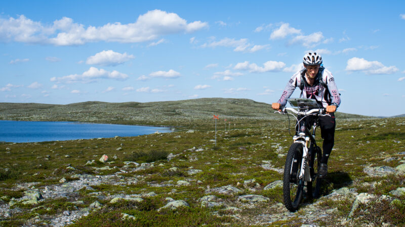 Sweden Mountain Range On MTB